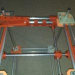 Первый прототип 3д принтера